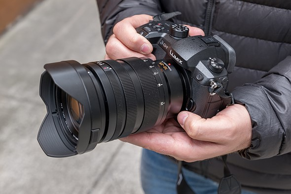 Hands-on with Panasonic's 10-25mm F1 7 Micro Four Thirds