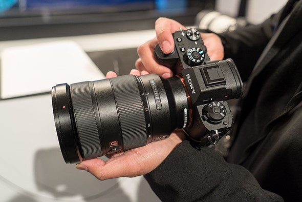 Hands on with the Sony a9 (ILCE-9)