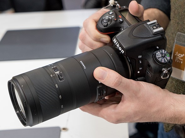 CP+ 2018: Hands-on with the Tamron 70-210mm F4 Di VC USD