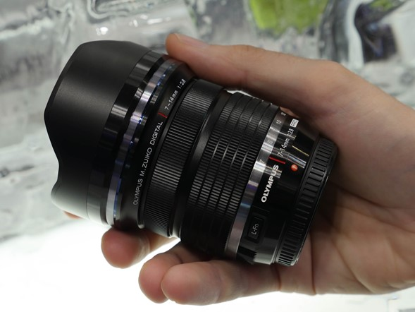 PPE 2014: Sneak peek at new Olympus lenses