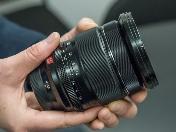 Hands-on with Fujifilm's XF 16-55mm F2.8 R LM WR lens