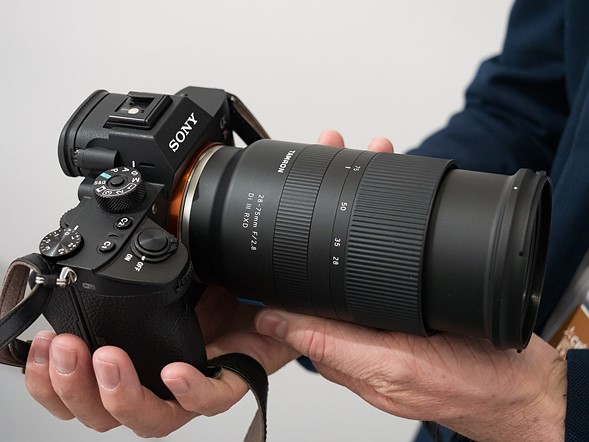 CP+ 2018: First look at new Tamron FE-mount 28-75mm F2.8