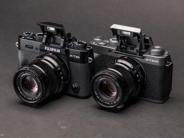 Fujifilm X-T200 vs X-T30