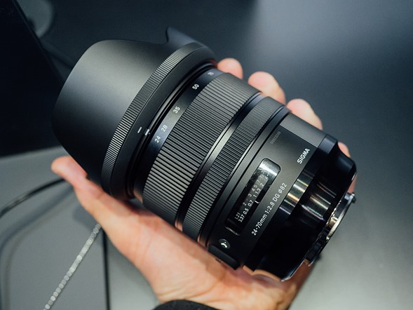 Hands on with Sigma's four new lenses