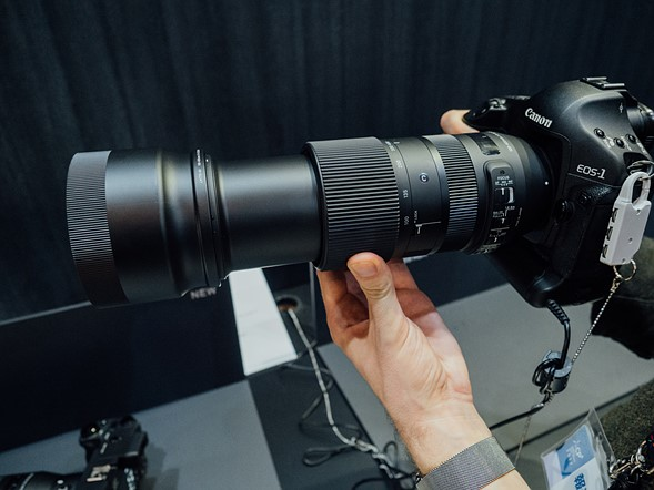 Sigma 100-400mm F5-6.3 DG OS HSM lens