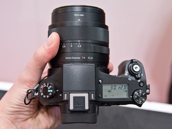 Hands on with Sony's Cyber-shot RX10