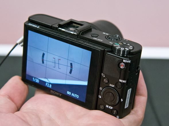 Hands on with Sony's Cyber-shot RX100 II