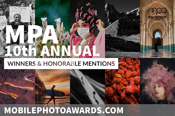 Winners of the 10th Annual Mobile Photography Awards