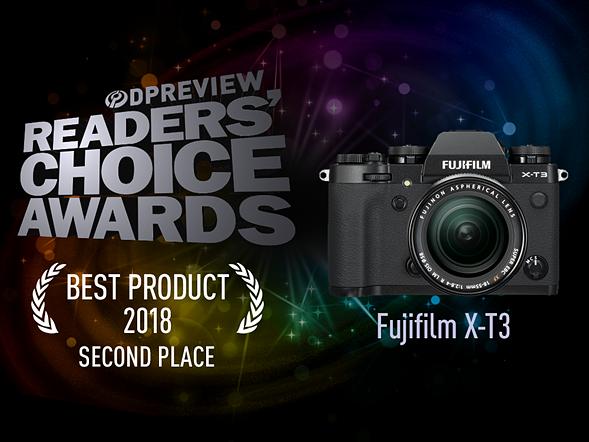 Second place: Fujifilm X-T3