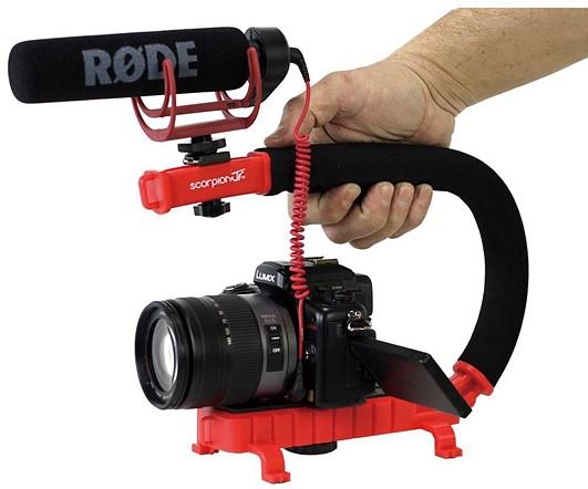 Cam Caddie Scorpion Jr. Video Camera Stabilizing Handle