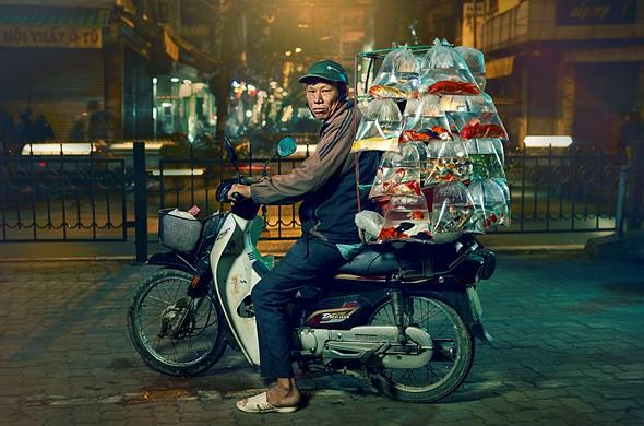 "Professional competition, Portraiture, Shortlist, 2020: 'Hanoi fish man' by <a href=""https://www.jonenoch.com/"" rel=""noopener"" target=""_blank"">Jon Enoch</a> (United Kingdom)"