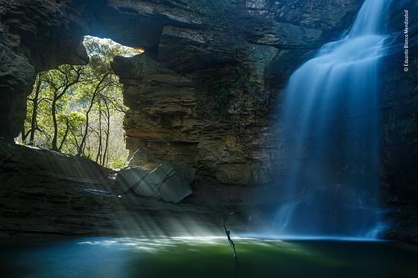 Painted Waterfall by Eduardo Blanco Mendizabal, Spain