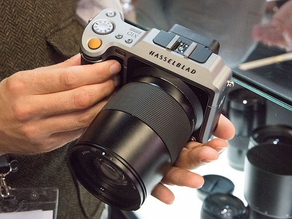 Photokina 2016: Hands-on with Hasselblad X1D