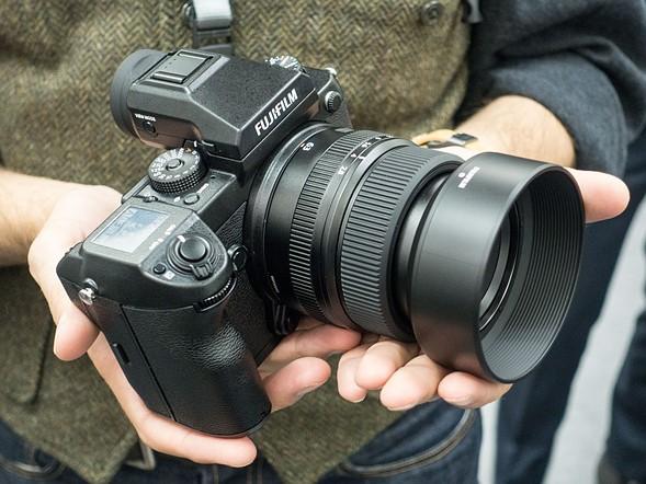 Winner: Fujifilm GFX 50S development