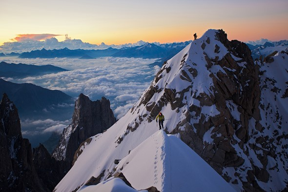 Alpine photographer Jonathan Griffith