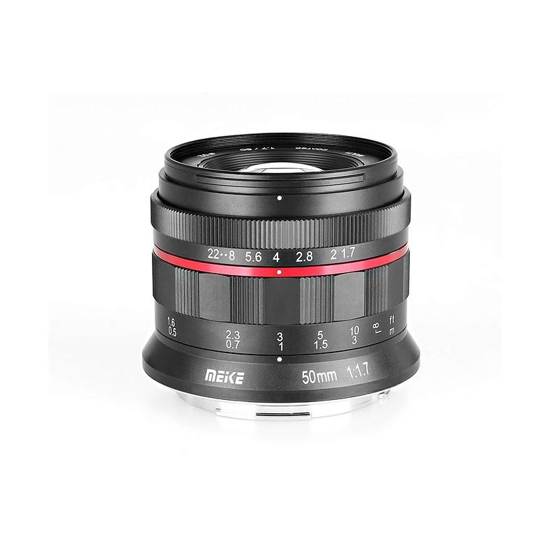 Meike Releases 50mm F1 7 Full Frame Budget Lens For Canon