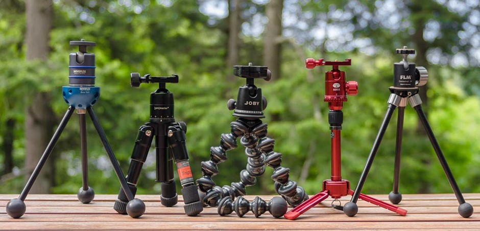 Beyond The Table Top 5 Mini Tripods Reviewed Digital