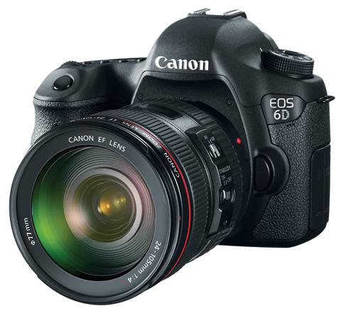 Canon updates firmware for EOS 6D Wi-Fi capable full-frame DSLR