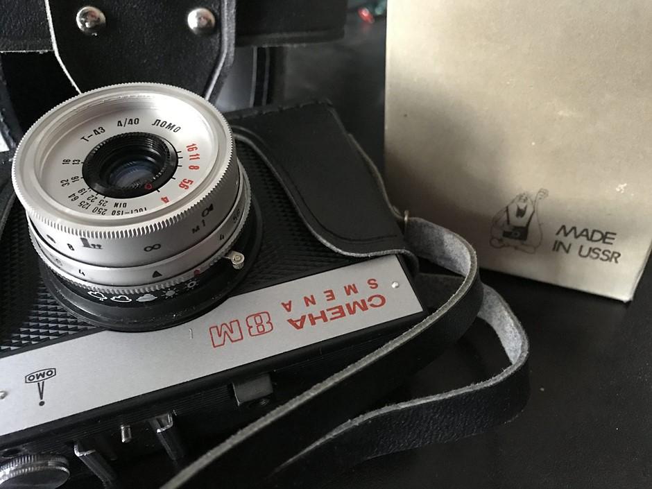 Film Fridays: Dreams come true - discovering a stash of untouched Soviet-era cameras