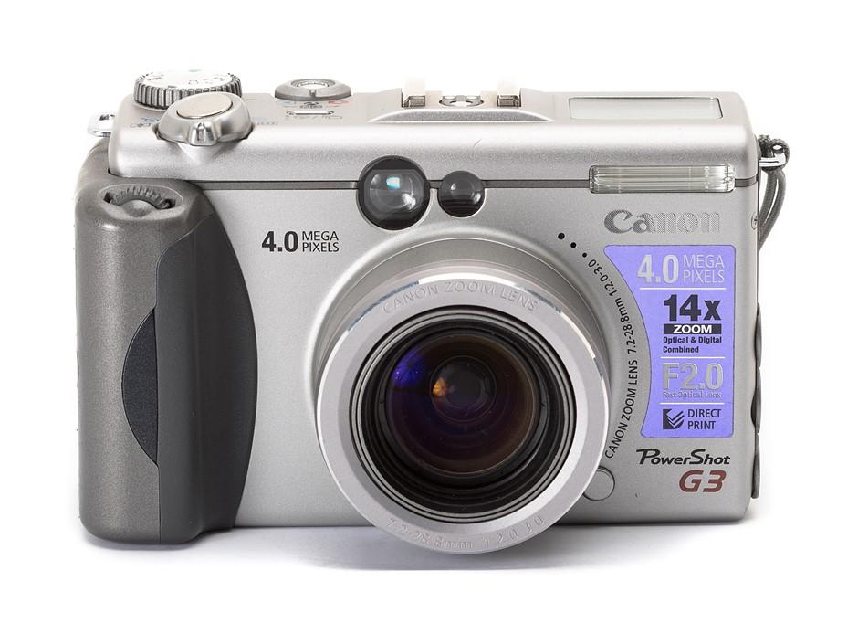 Throwback Thursday: The Canon PowerShot G3