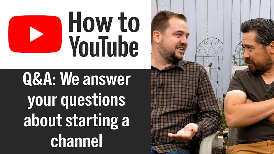 DPReview TV: We answer your questions about how to start a YouTube channel