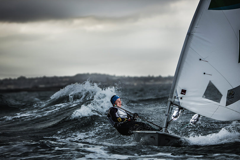 Shooting an Olympic sailor in action using remote high speed sync