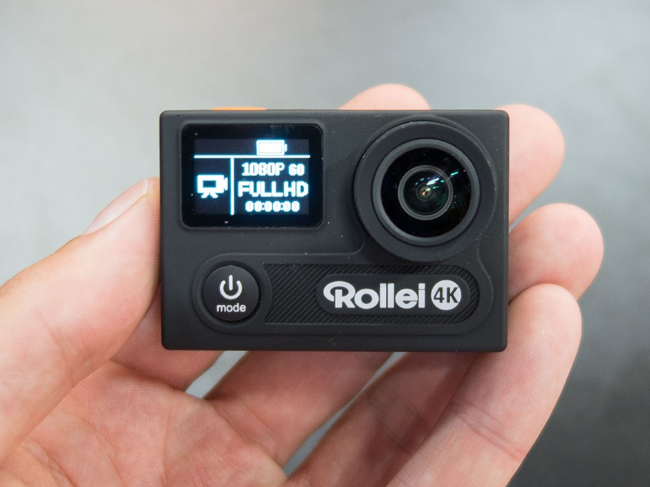 rollei actioncam 430 comes with 4k resolution and full hd. Black Bedroom Furniture Sets. Home Design Ideas