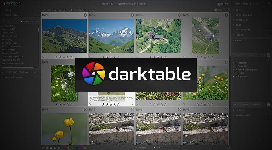Open source raw processor Darktable gets substantial 3.2 update