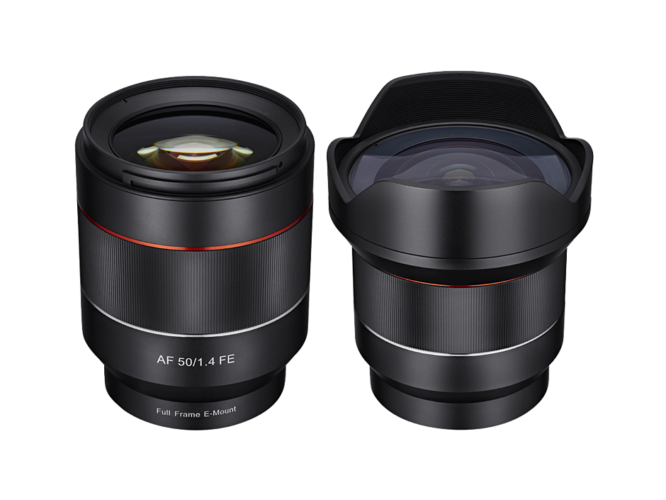 Samyang Announces 14mm F2 8 And 50mm F1 4 Autofocus Fe