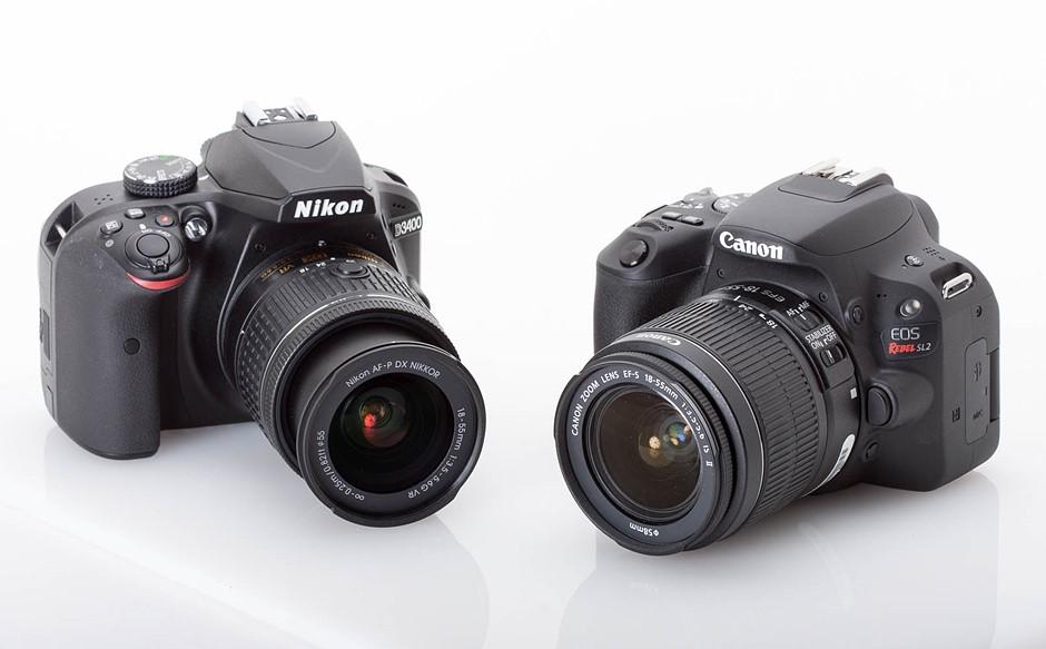 Canon or Nikon DSLR Camera