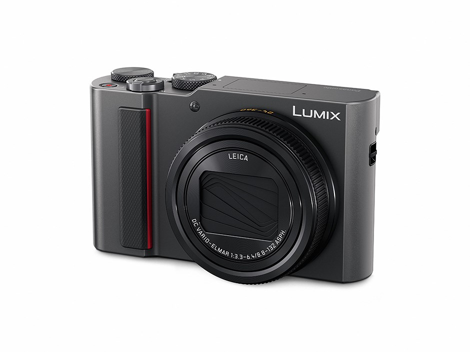 "Panasonic Lumix ZS200 offers 1"" sensor and 24-360mm equiv. zoom in a pocketable form factor"