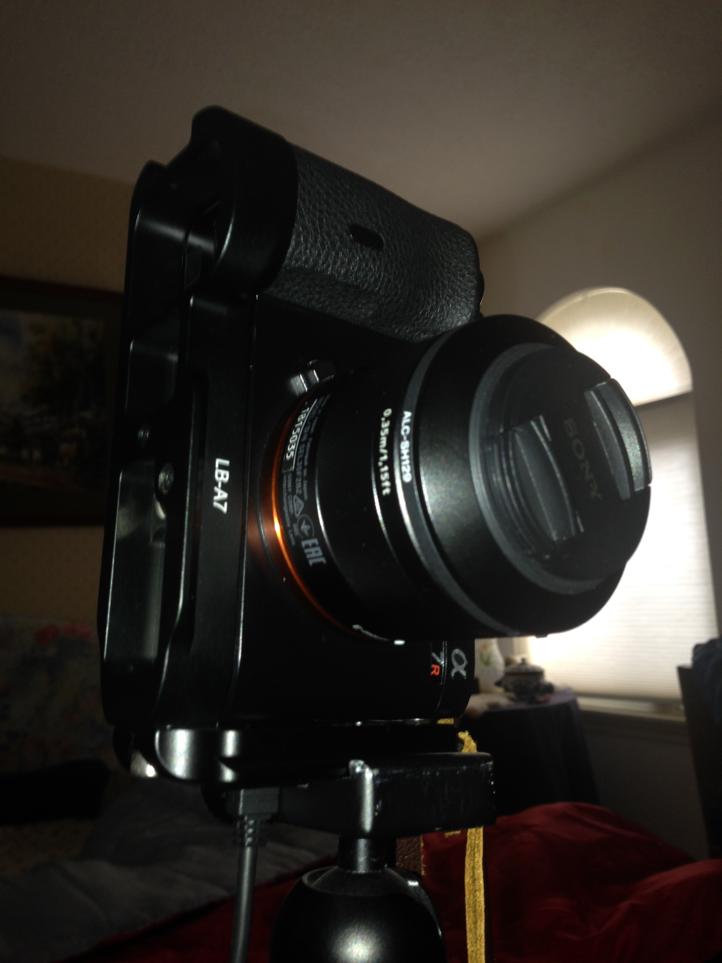 25 L Bracket For A7 And A7r Sony Alpha Full Frame E Mount Talk Plate Kamera A7s View Original Size With This