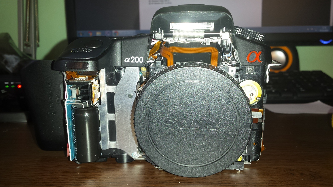 steadyshot broken sony alpha slr slt a mount talk forum digital rh dpreview com Sony A200 Camera Sony Alpha A200 DSLR