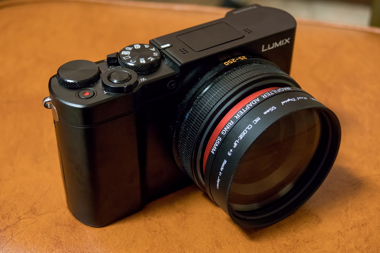 Includes Filter Adapter Multithreaded Glass Filter for Panasonic Lumix DMC-ZS100 C-PL Circular Polarizer Multicoated