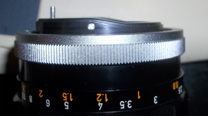 Fotodiox adapter won't mount certain Canon FD lens: Adapted Lens