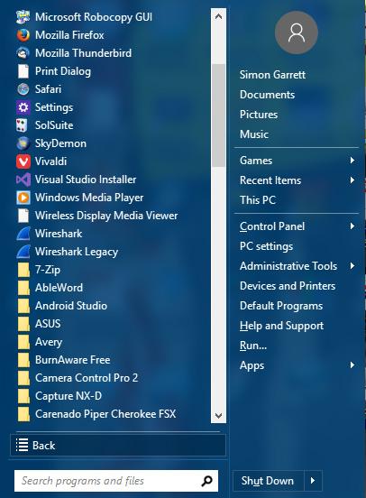 Re: How to nuke Windows 10 live tiles?: PC Talk Forum