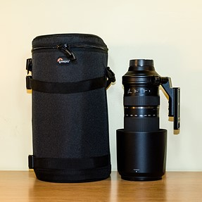 Cases for the Tamron 150-600 mm (with photos)