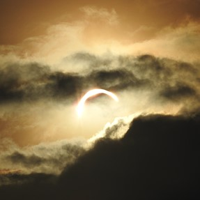 Hi..., some cloudy solar eclipse pictures at my city