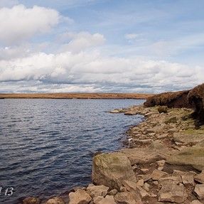 Dovestones and the Chew Valley  (With a KM A200)