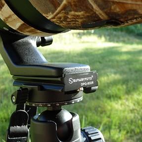 Inexpensive sling arrangement for Nikon 200-500/5.6E