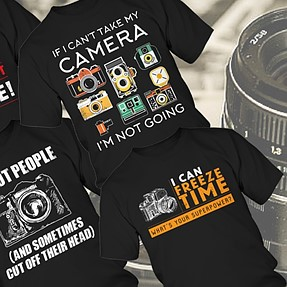 12 Incredible Photography Lover's T-Shirts That You Won't Buy One Of