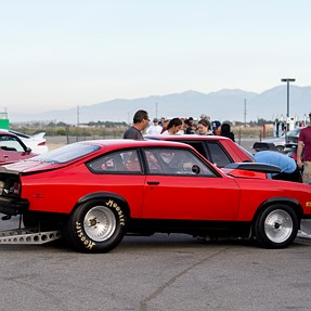 First 'pro' shoot: Willow Springs Drag Racing.