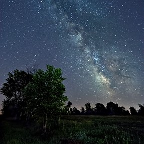 D7200 - another Milky Way over rural Ottawa shot