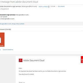 Adobe mail hacked?