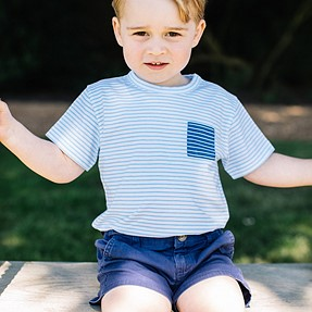Prince George at 3 years old