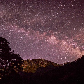 Time Lapse from French Pyrenees also astro scenes