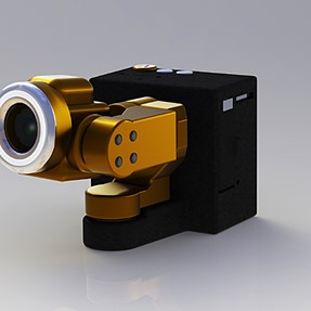 Action Camera Inspired by a Transforming Drone.