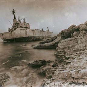 Edro III Shipwreck in Pegia in Cyprus.