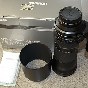 FS: Tamron 150-600mm f/5-6.3 VC USD lens (Canon mount)