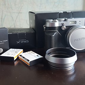 Fuji Film X100t with additional accessories - 875 USD now